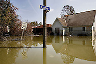 The Hurricane Katrina aftermath In New Orleans.