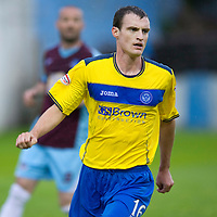 St Johnstone FC....Season 2011-12<br /> David Robertson<br /> Picture by Graeme Hart.<br /> Copyright Perthshire Picture Agency<br /> Tel: 01738 623350  Mobile: 07990 594431