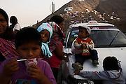 in the human settlement of Huascar, Lima, Peru, Wednesday, May 18, 2011.(Photo Dado Galdieri)