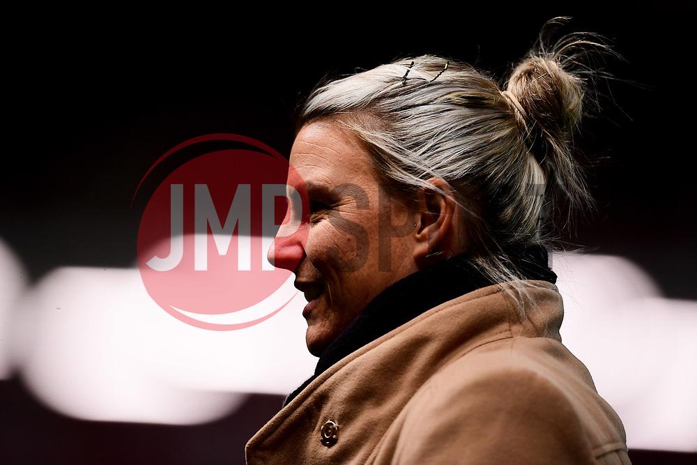 Tanya Oxtoby manager of Bristol City Women prior to kick off - Mandatory by-line: Ryan Hiscott/JMP - 17/02/2020 - FOOTBALL - Ashton Gate Stadium - Bristol, England - Bristol City Women v Everton Women - Women's FA Cup fifth round