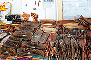 The Sunday Market in Cayenne (Marche du Cayenne) on Place du Coq, is a riot of colourful produce and handicrafts.