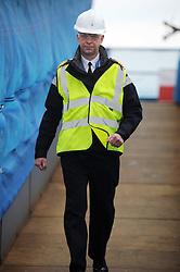 HMS Queen Elizabeth, Rosyth,24-5-2016        <br /> <br /> Cpt Kid, <br /> <br /> (c) David Wardle | Edinburgh Elite media