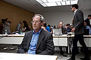 Wiesbaden | 11 May 2015<br /> <br /> NSU Untersuchungsausschuss Hessischer Landtag, 20. Sitzungstag, hier: Gerald Hasso Hess (70), Regierungsdirektor a.D., war 2006 Geheimschutzbeauftragter beim Hessischen Landesamt f&uuml;r Verfassungsschutz, er f&uuml;hrte nach dem NSU-Mord an Halit Yozgat mit dem damals wegen dieser Tat unter Mordverdacht stehenden VS-Mitarbeiter Andreas Temme ein Telefonat, in dem er ihn aufforderte, &quot;m&ouml;glichst nahe an der Wahrheit zu bleiben&quot;.<br /> <br /> &copy;peter-juelich.com<br /> <br /> [Foto honorarpflichtig | Fees Apply | No Model Release | No Property Release]