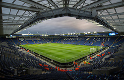 General View inside the King Power Stadium. - Mandatory by-line: Alex James/JMP - 18/10/2016 - FOOTBALL - King Power Stadium - Leicester, England - Leicester City v FC Copenhagen - UEFA Champions League