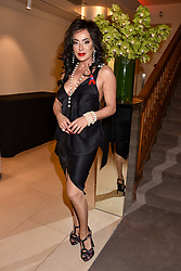Nancy Dell'olio at the Terence Higgins Trust Auction 2017 at Christie's, 8 King Street, St.James's, London England. 11 April 2017.
