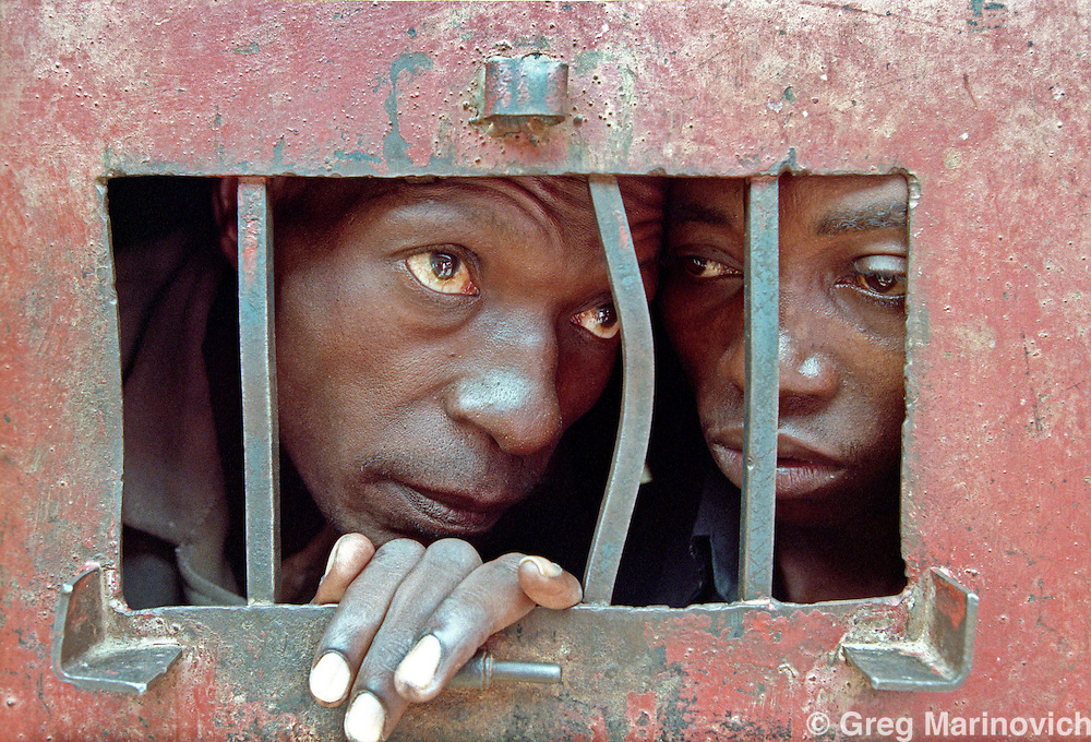 May 11, 1995 Kigali Prison, where those accused of genocide are held. Greg Marinovich