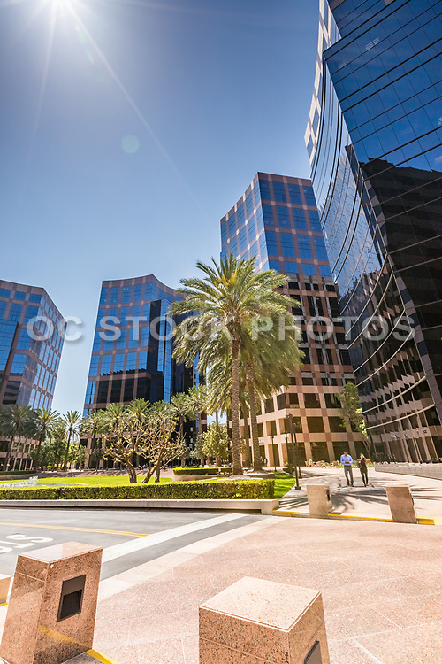 Irvine Business Buildings At The Irvine Business Complex
