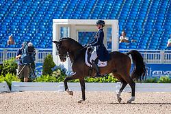 Roos Laurence, BEL, Fil Rouge<br /> World Equestrian Games - Tryon 2018<br /> © Hippo Foto - Dirk Caremans<br /> 14/09/18