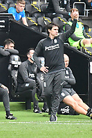 Football - 2020 /2021 EFL Championship - Swansea City vs Birmingham City <br />      <br /> Birmingham manager Aitor Karanka on the touchline<br /> in a match played without fans at the Liberty Stadium<br /> <br /> COLORSPORT/WINSTON BYNORTH