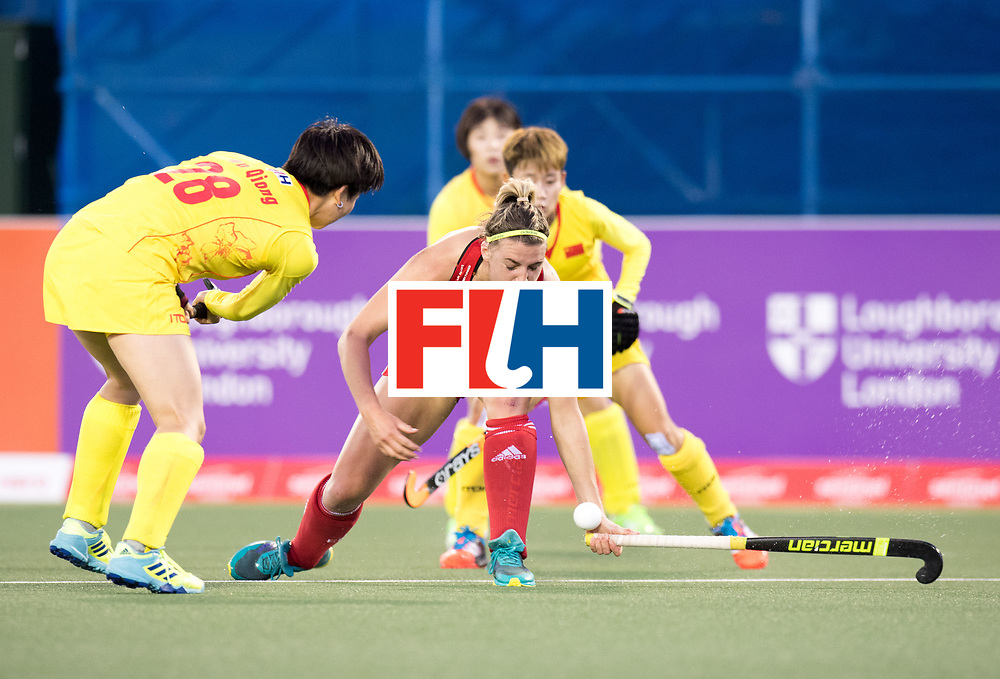 AUCKLAND - Sentinel Hockey World League final women<br /> Match id 10302<br /> ENG v China<br /> Foto:  Lily Owsley.<br /> WORLDSPORTPICS COPYRIGHT FRANK UIJLENBROEK