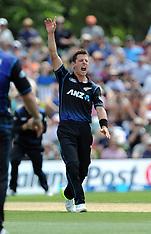Christchurch-Cricket, New Zealand v Sri Lanka 1st ODI