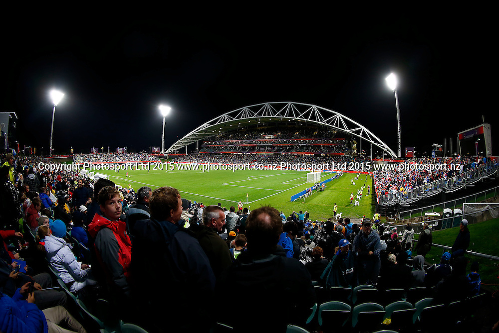 General view during the FIFA U20 World Cup Final, Serbia v Brazil, QBE Stadium, Auckland, Saturday 20th June 2015. Copyright Photo: Shane Wenzlick / www.photosport.nz