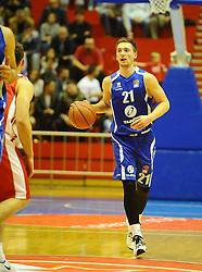 CRVENA ZVEZDA vs TAJFUN<br /> Beograd, 08.10.2015.<br /> foto: Nebojsa Parausic<br /> <br /> Kosarka, Crvena zvezda, Tajfun, Jadranska ABA liga, Domen Bratoz