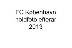 20130913 FC København officielt holdfoto