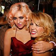 NLD/Amsterdam/20100913 - Verjaardagsfeestje Modemeisjes met een missie, Christina Curry en moeder Patricia Paay
