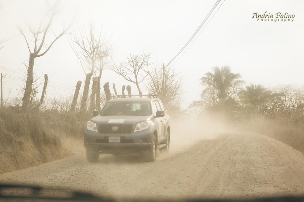 Dirt Road in the Nicoya Peninsula, Costa Rica