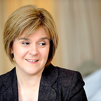 Health Secretary Nicola Sturgeon announces  the Chief Inspector of the Healthcare Environment Inspectorate, Susan Brimelow at the Beatson West of Scotland cancer Centre.