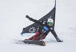 Kotov Konstantin during the FIS snowboarding world cup race in Rogla (SI / SLO) | GS on January 20, 2018, in Jasna Ski slope, Rogla, Slovenia. Photo by Urban Meglic / Sportida