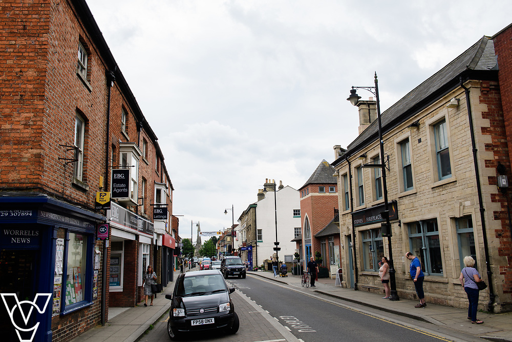 North Kesteven District Council (NKDC) - stock photography: Sleaford town centre<br /> <br /> Picture: Chris Vaughan Photography<br /> Date: June 2, 2017