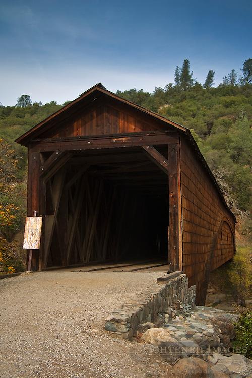 Bridgeport Covered Bridge, South Yuba River State Park, Nevada County, California