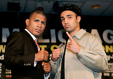 March 29, 2006 - Miguel Cotto vs Paulie Malignaggi Press Conference - MSG, NY, NY