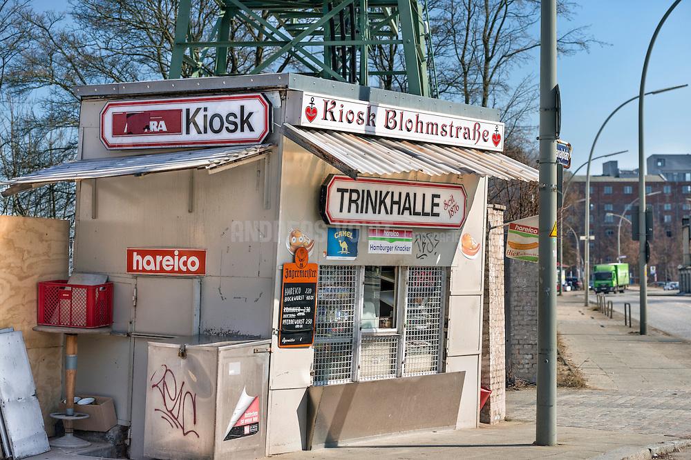 Kiosk Blohmstraße in Harburg