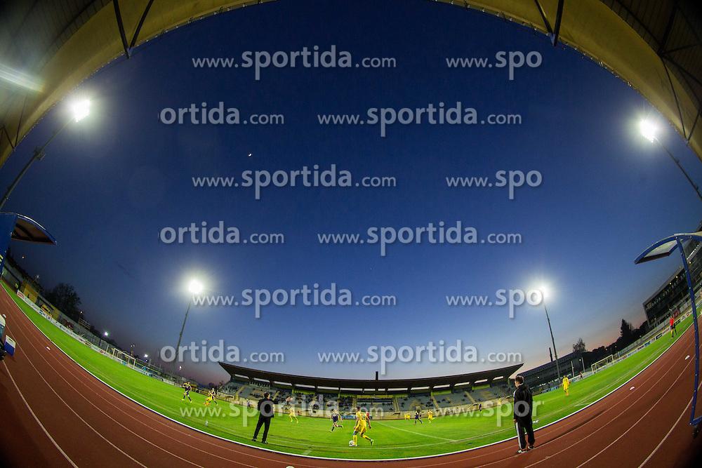 Stadium during football match between NK Radomlje and NK Maribor in 29th Round of Prva liga Telekom Slovenije 2014/15, on April 24, 2015 in Sportni park Domzale, Slovenia. Photo by Vid Ponikvar / Sportida