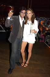 JAG BOLINA and the HON.ANTALYA NALL-CAIN daughter of Lord Brocket at the party Belle Epoque hosted by The Royal Parks Foundation and Champagne Perrier Jouet held at the Lido Lawns of the Serpentine, Hyde Park, London on 14th September 2006.<br /><br />NON EXCLUSIVE - WORLD RIGHTS
