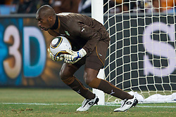 Goalkeeper of Ivory Coast Boubacar Barry during the 2010 FIFA World Cup South Africa Group G Second Round match between Brazil and République de Côte d'Ivoire on June 20, 2010 at Soccer City Stadium in Soweto, suburban Johannesburg, South Africa.  Brazil defeated Ivory Coast 3-1. (Photo by Vid Ponikvar / Sportida)