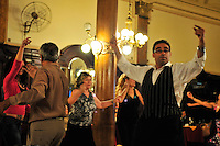 Chacarera Dancers in the Milonga La Confiteria Ideal, National Monument, Buenos Aires, Argentina Image by Andres Morya