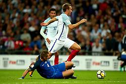 Harry Kane of England goes past Jan Durica of Slovakia - Mandatory by-line: Robbie Stephenson/JMP - 04/09/2017 - FOOTBALL - Wembley Stadium - London, United Kingdom - England v Slovakia - 2018 FIFA World Cup Qualifier
