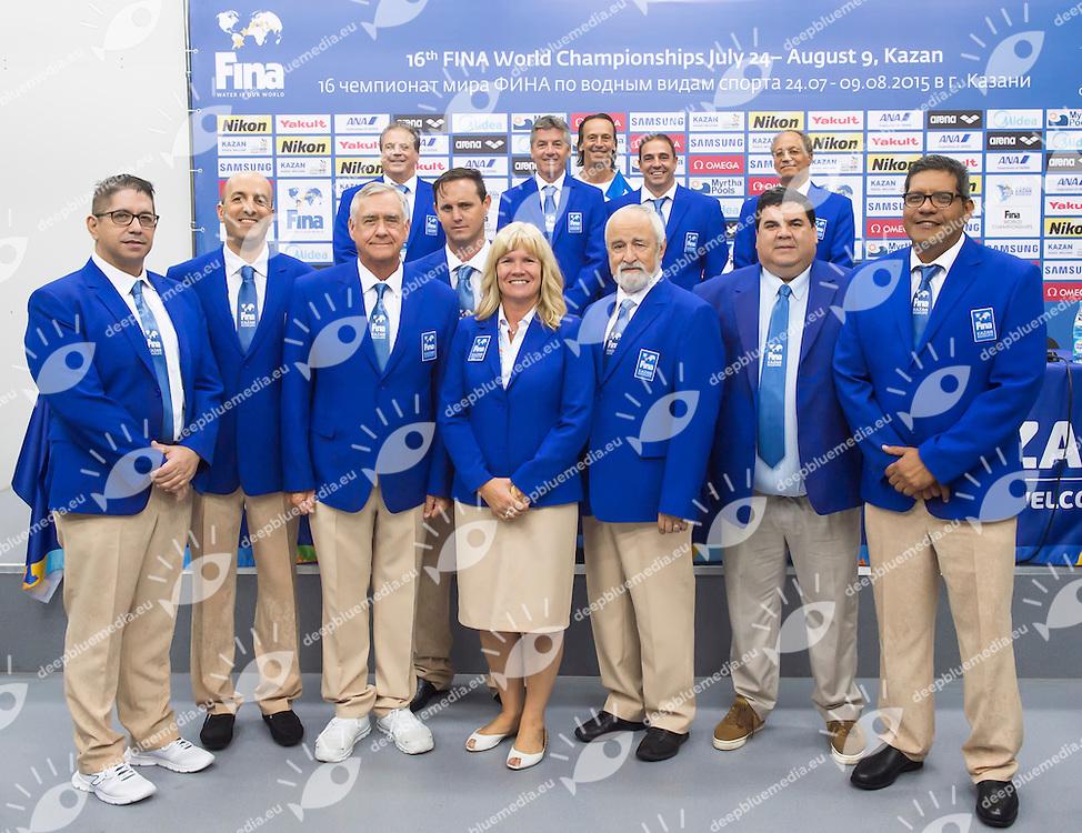 XXX<br /> High Diving - FINA Technical Committee<br /> 01/08/2015<br /> XVI FINA World Championships Aquatics Swimming<br /> Kazan Tatarstan RUS July 24 - Aug. 9 2015 <br /> Photo Giorgio Perottino/Deepbluemedia/Insidefoto