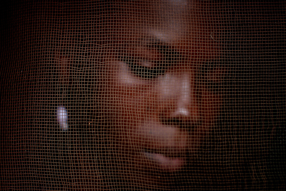 Pictures taken at Kanikay Girls Shelter,Freetown.Picture shows former sex worker Zainab Bangura (13 yrs)<br />  Picture credit should read Julien Behal/PA<br />  Picture date: 12 OCTOBER 2008