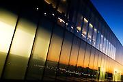 Tate modern at sunset