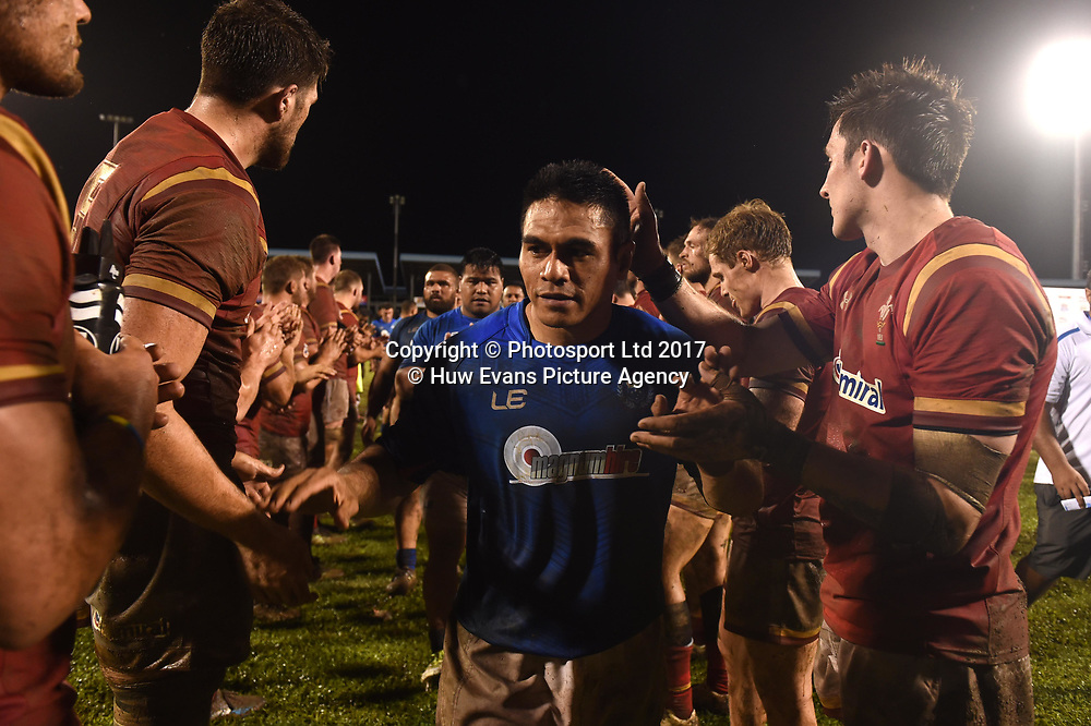 23.06.17 - Samoa v Wales -<br /> David Lemi of Samoa at the end of the game.<br /> Copyright photo: Ben Evans / www.photosport.nz