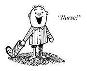 """Children's Ward. """"Nurse!"""""""