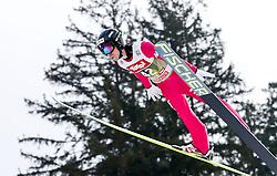 03.01.2015, Bergisel Schanze, Innsbruck, AUT, FIS Ski Sprung Weltcup, 63. Vierschanzentournee, Training, im Bild Davide Bresadola (ITA) // Davide Bresadola of Italy in action during Trial Jump of 63 rd Four Hills Tournament of FIS Ski Jumping World Cup at the Bergisel Schanze, Innsbruck, Austria on 2015/01/03. EXPA Pictures © 2015, PhotoCredit: EXPA/ Peter Rinderer
