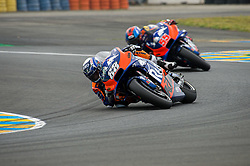 May 19, 2019 - Le Mans, Sarthe, FRANCE - 88 MIGUEL OLIVEIRA (PRT) RED BULL KTM TECH 3 (FRA) KTM RC16 (Credit Image: © Panoramic via ZUMA Press)