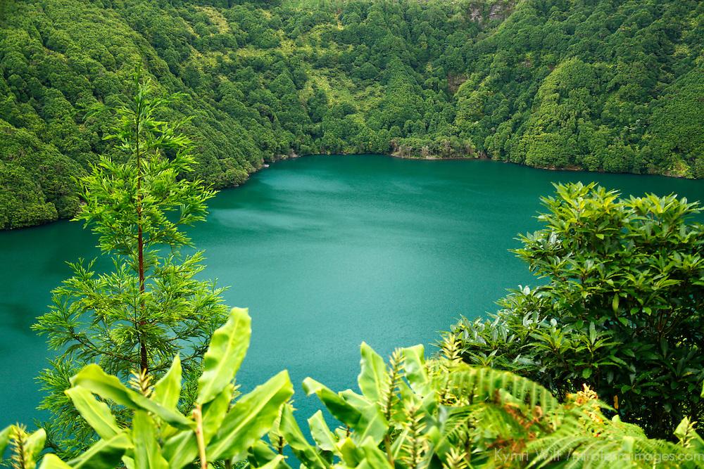 Europe, Portugal, Azores. Sete Cidades Lakes.