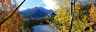 Bear Lake with Autumn Colors Rocky Mountain National Park, Colorado