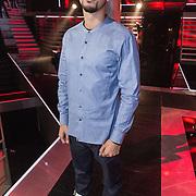 NLD/Amsterdam/20131129 - The Voice of Holland 2013, 3de show, Wudstik, Jermain van der Bogt