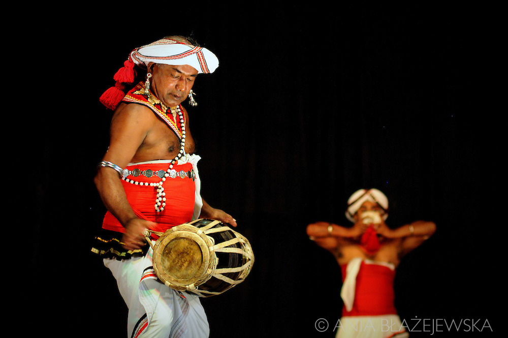 Sri Lanka. Dancers in Kandy.