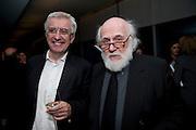 PETER PAKESCH; ANTON HERBERT, Miroslaw Balka/John Baldessari Opening Reception, Tate Modern. Monday 12 October