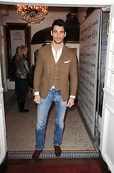 DAVID GANDY at an In-House screening of 'Sweet Smell of Success' hosted by Clive Owen presented by Tod's in association with Amend held at The Electric Cinema, 191 Portobello Road, London W11 on 29th November 2010.