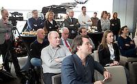 BADHOEVEDORP - persconferentie . Op voorgrond Igor Hoyng (ANWB golf) Van 20 t/m 22 mei zal op de International Golfcourse de ING Private Banking Golf Week voor het eerst gehouden worden.  COPYRIGHT KOEN SUYK