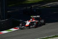 Max Chilton (GBR) Marussia F1 Team MR03.<br /> Italian Grand Prix, Saturday 6th September 2014. Monza Italy.