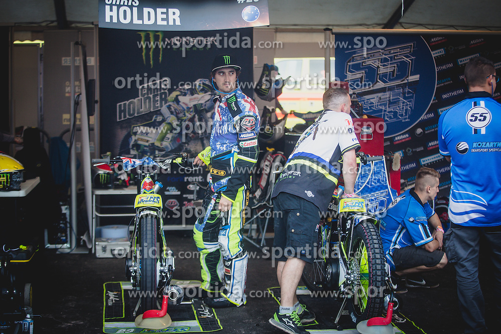 Chris Holder of Australia during Mitas Slovenian FIM Speedway Grand Prix World Cup, Krsko, on 9. September, 2015, in Sports park Krsko, Slovenia. Photo by Grega Valancic / Sportida
