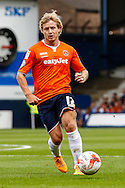 Scott Griffiths of Luton Town during the Sky Bet League 2 match at Kenilworth Road, Luton<br /> Picture by David Horn/Focus Images Ltd +44 7545 970036<br /> 16/08/2014