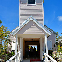 Bahamian Church at Half Moon Cay, Bahamas <br /> If you have always dreamed of a destination wedding, or want to renew your wedding vows as part of an anniversary cruise, then consider arranging this Bahamian church prior to your trip. The lovely, non-denomination chapel seats 20 guests.  After the ceremony, enjoy a glass of champagne and then have the reception at the Private Oasis.  The 1,620 foot building has a large deck overlooking the lagoon plus a dining area, full wet bar, a barbecue and an eight-person hot tub.  How&rsquo;s that for romantic?