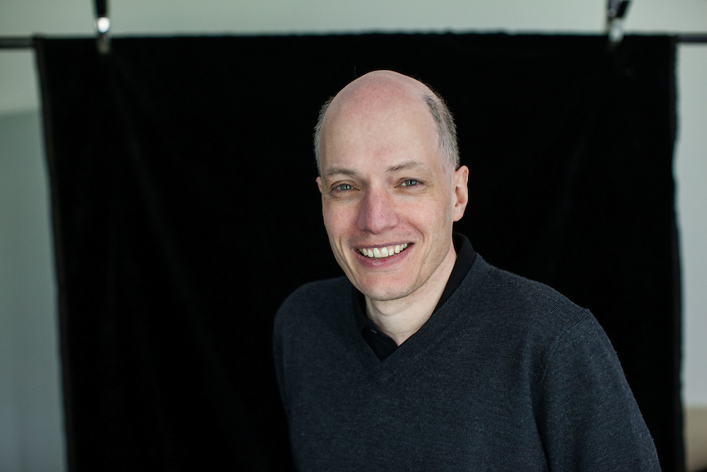alain de botton writer and philosopher photographed for Blik